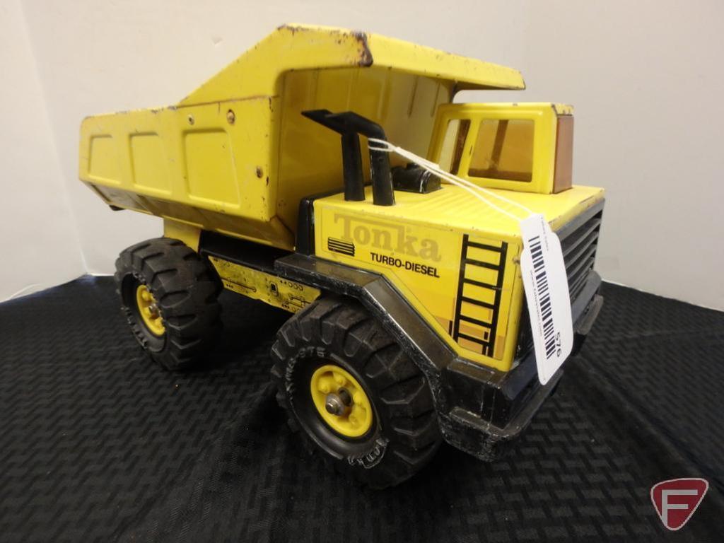 Tonka turbo-diesel dump truck