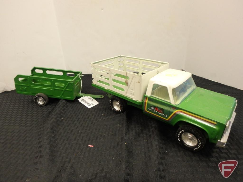 Nylint farms pickup and trailer