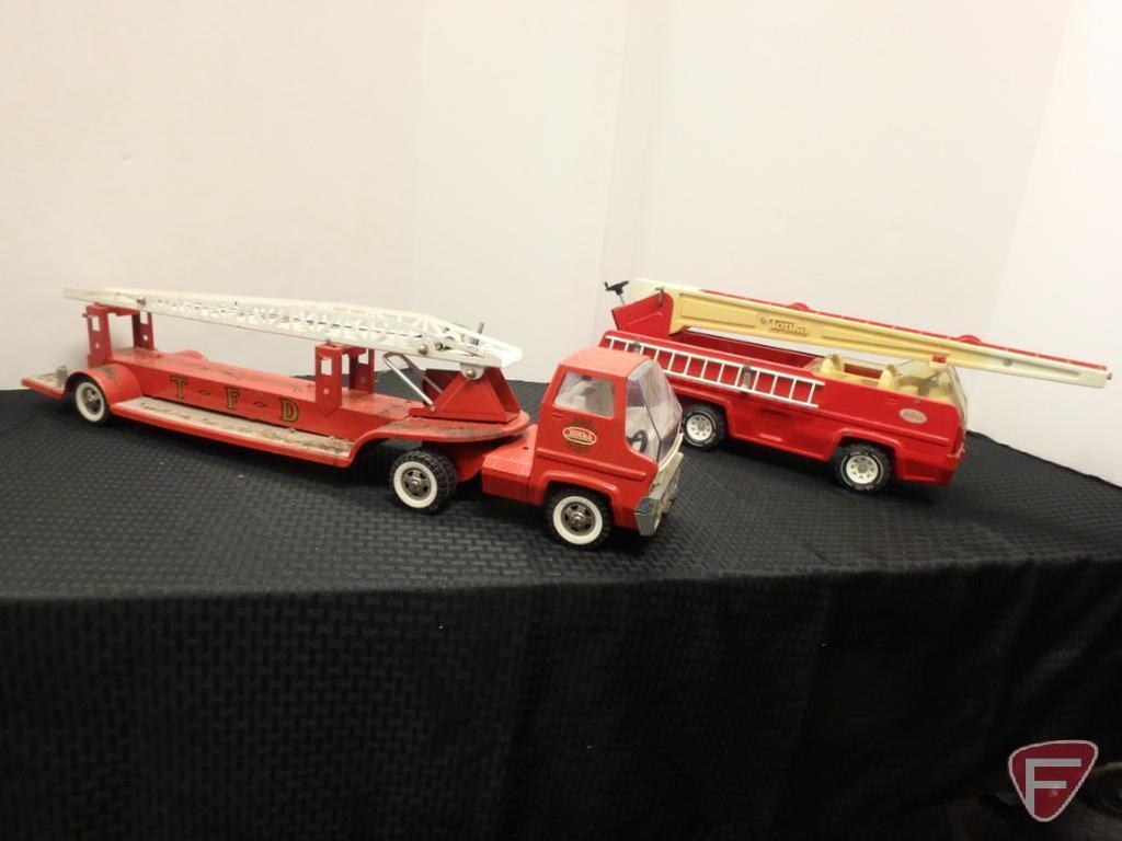Tonka fire trucks 2