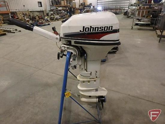 1998 Johnson 9.9hp outboard boat motor, sn G043B3569