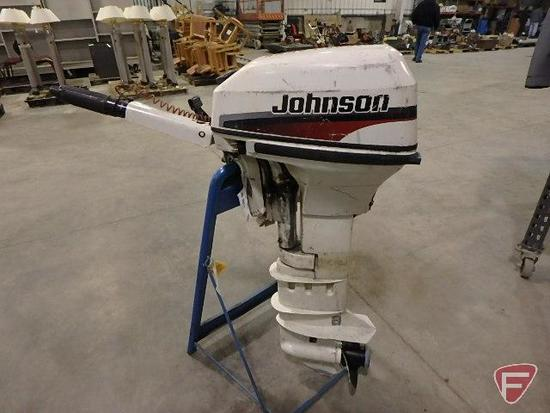 1998 Johnson 9.9hp outboard boat motor, sn G04391774