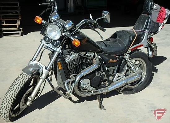 1983 Honda Shadow 750 Motorcycle, VIN # JH2RC1407DM010478