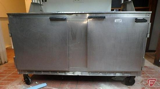 Beverage-Air Superia 2 door stainless steel cooler, model UCR80A