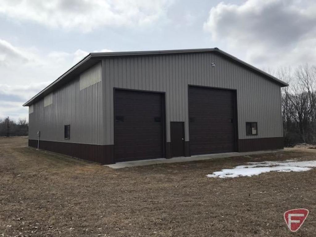 Parcel 2: 1+ Acre Lot with Exceptional Storage Building - XXX Cedar Street, Lester Prairie, MN