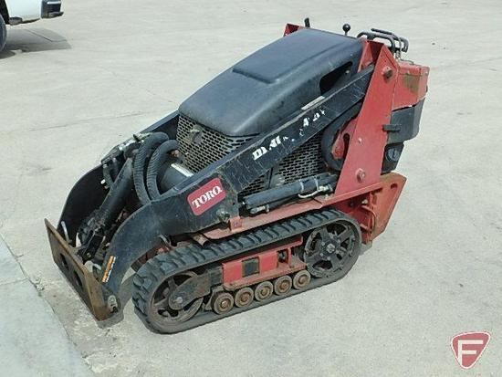 Toro Dingo TX420 compact utility track loader, sn:22306-220000146, Kohler gas engine, unknown hours