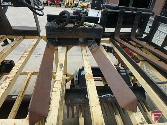Dingo hydraulic tree forks