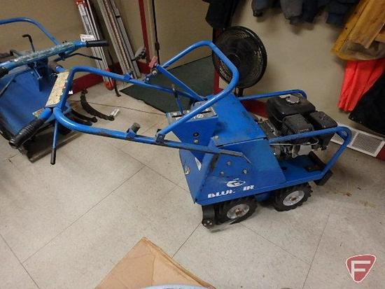 "Bluebird sod cutter, model sc18, 18"" cut, Honda 163cc gas engine"