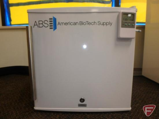 ABS American BioTech Supply compact medical refrigerator, model PH-ABT-UCFS-0220M-TD