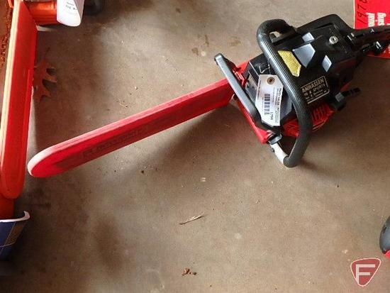 """Jonsereds 520SP gas chainsaw with 16"""" bar"""