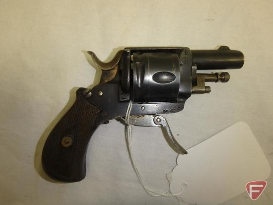Belgian Bulldog .32 centerfire revolver