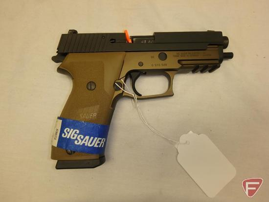 Sig Sauer P220 .45ACP semi-automatic pistol