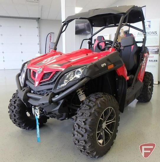 2017 CFMOTO Z Force 500 side by side ATV with winch