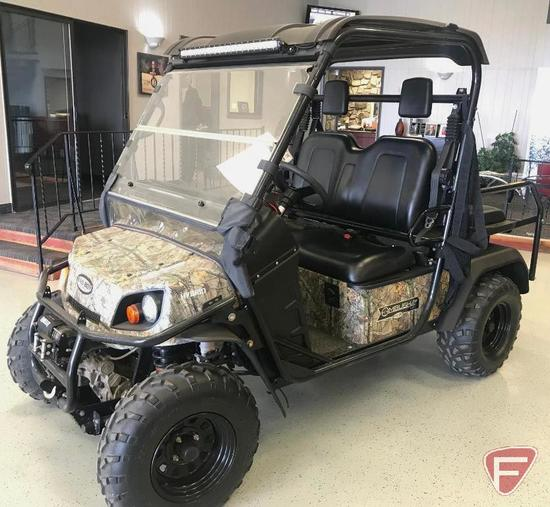 2015 Bad Boy Buggies Ambush 4 X 4 Hybrid Sport Series Side-By Side - 4 Pass convertible to flatbed