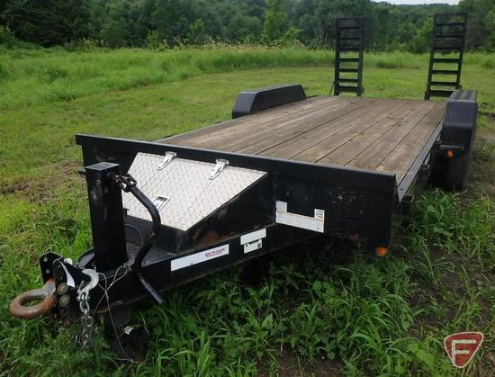 2013 Rice Trailers Tandem Axle Flatbed Trailer