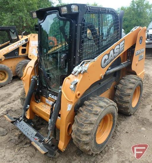 Case Construction SR210 skid steer loader, 318 hrs showing, PIN JAFSR210AGM421250