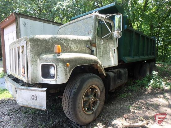 1989 Navistar International Dump Truck