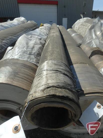 50 sq. yards of vinyl flooring, water oak color, 98 in. W, 141 lbs.
