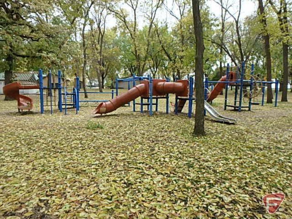 Landscape Structures Playground System-Glencoe, MN