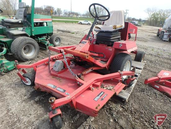 "Toro GroundsMaster 327 72"" commercial out-front rotary mower, 1,096 hrs (for parts)"