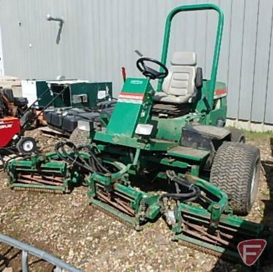 Ransomes 945002 fairway mower with (5) Ransomes verticut reels, SN: 9450020247, 2,121 hrs