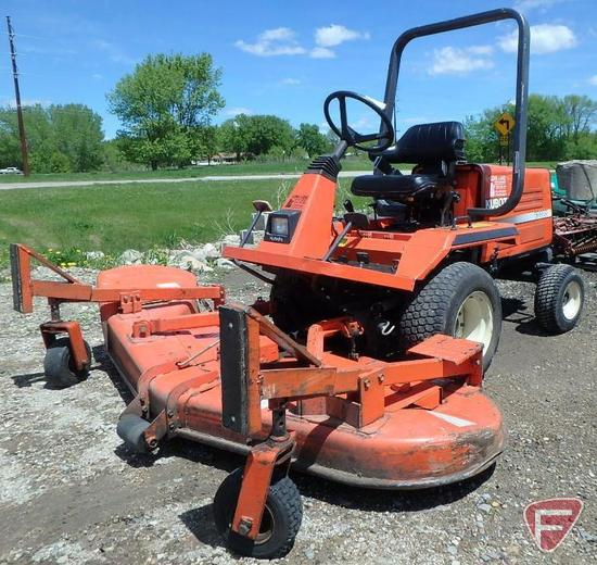 "Kubota F2100E 72"" diesel out-front rotary mower, SN: 11230, ROPS, 851 hrs"