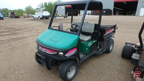 2001 Cushman Turf Truckster utility vehicle with hydro dump bed, model 898658, SN: 7370