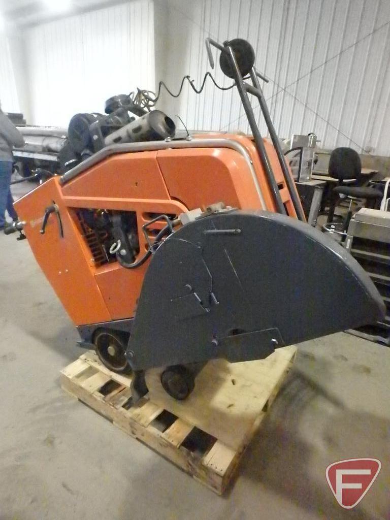 Husqvarna FS 4800 concrete saw with Yanmar TNV engine
