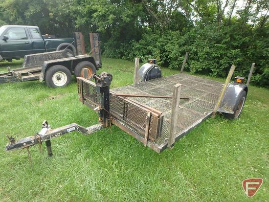 1977 Homemade Single Axle Trailer