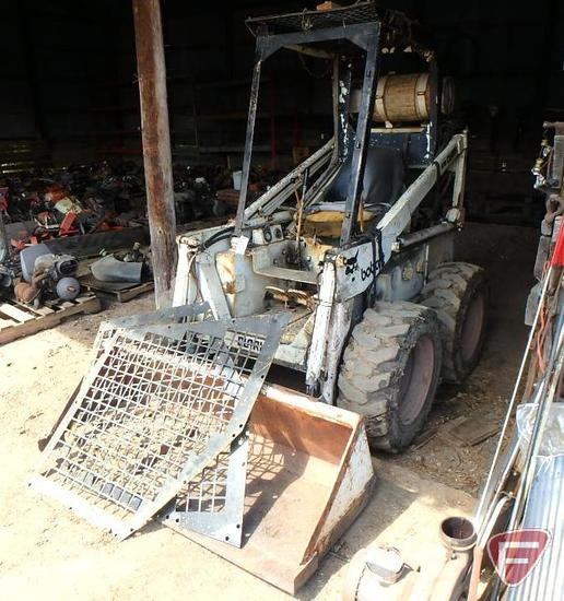 "Bobcat Clark 610 LP skid loader with 60"" dirt bucket, sn 210459"