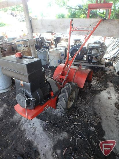 Ariens Rocket V walk behind tiller with 5hp gas engine
