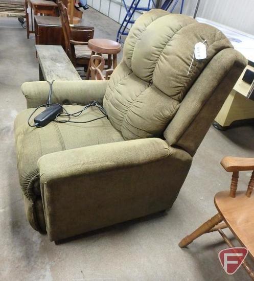 Berkline lift-assist recliner chair, some wear