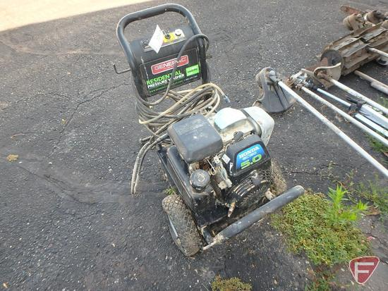 Generac Residential portable pressure washer, 2.2gpm, 2400psi,