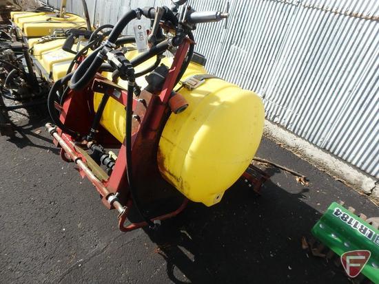 "Demco field sprayer 3pt attachment, 540 PTO, 116"" folding boom, pump is stuck"