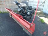 Western Wide-Out pickup truck plow with mounts, head lights, 95