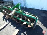 JD/John Deere 673 rear 3pt rotary tiller attachment, 540 PTO with slip clutch, 72