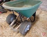 2 wheel, wheelbarrow