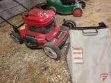 Toro Personal Pace self propelled walk behind lawn mower with bagger