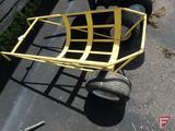Tree ball 2 wheel cart