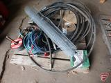 Hydraulic hose, extension cords, electrical wire, smooth fencing wire