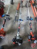 Echo PAS260 gas trimmer combo hedge clipper, runs