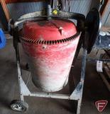 Redline portable electric cement mixer
