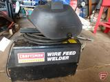 Craftsman Professional mig wire feed portable welder with helmet