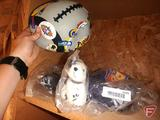 (3) RCA promotional basketballs and keychain