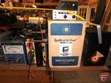 Test equipment: Sencore Field Effect transistor checker, large assortment of multi-meters,