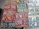 Vintage Missouri License plates: 1924 and 1987-2002