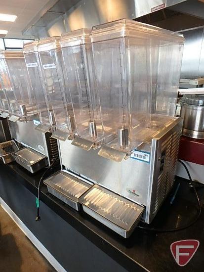 Crathco Ltd. E47/E49-3 cold beverage dispenser, 115v, R134A refrigerant