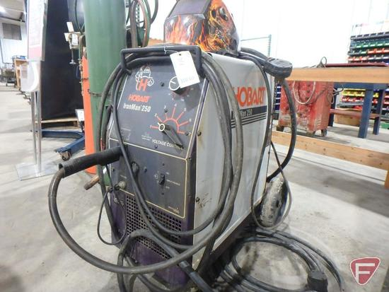 Hobart IronMan 250 MIG welder, solid wire, 200/230V, 40/35 amp, single phase, sn: LA172253