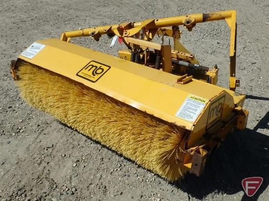 MB 5' PTO driven broom attachment