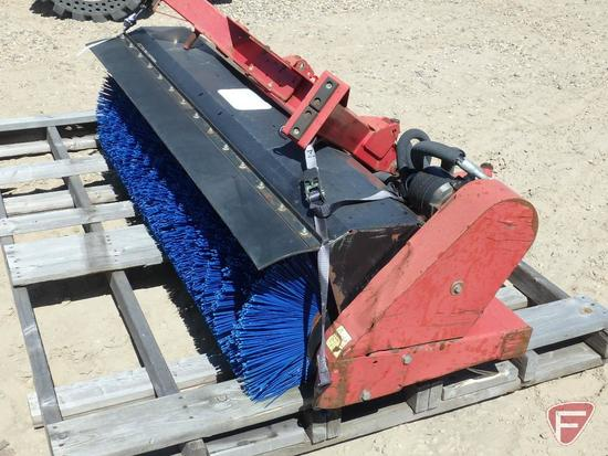 "Toro 64"" hydraulic articulating broom attachment"