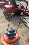 Husqvarna HVT 52 gas walk-behind fly mower/hover mower, 4.5 HP Honda engine, SN: 21800074